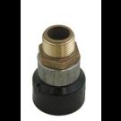 """1"""" fusion x1""""MPT  brass adaptors"""